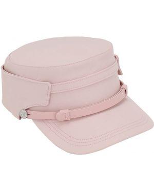 Różowy kapelusz bawełniany Max Mara