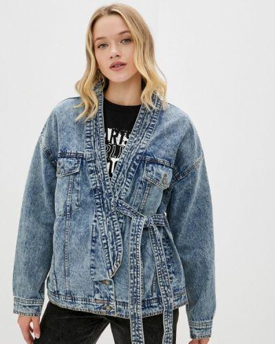 Джинсовая куртка - синяя Sela
