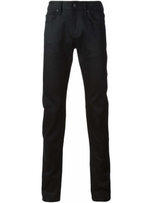Mom jeans bawełniane - czarne Naked And Famous