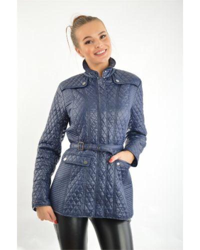 Утепленная куртка весенняя синий Bgn