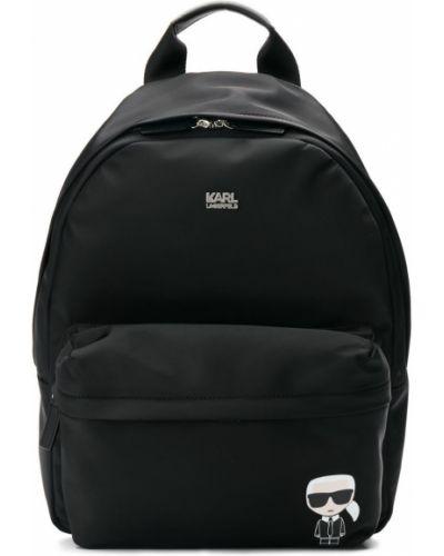 Сумка сумка-рюкзак черная Karl Lagerfeld