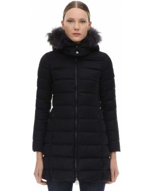 Czarna kurtka z kapturem z nylonu Tatras
