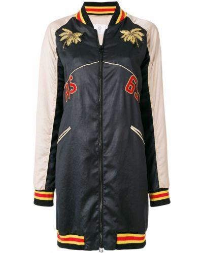 Черное длинное пальто с капюшоном узкого кроя As65