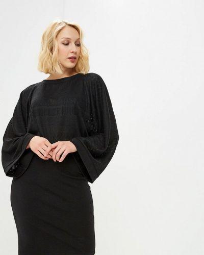 Прямое черное платье Adzhedo
