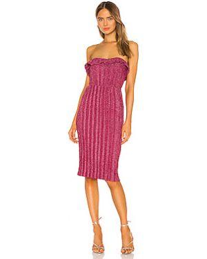 Платье миди с декольте на молнии Nbd