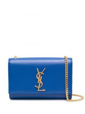 Niebieski złoty łańcuszek Saint Laurent