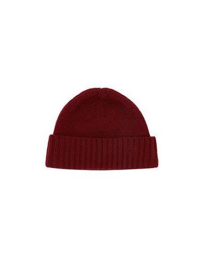 Повседневная кашемировая красная шапка Castello D'oro