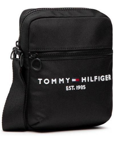 Czarna saszetka Tommy Hilfiger