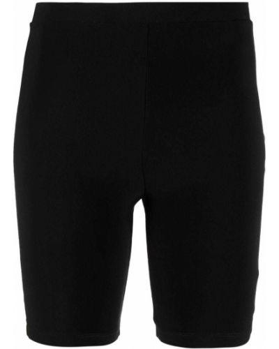 Облегающие черные шорты с поясом Atu Body Couture