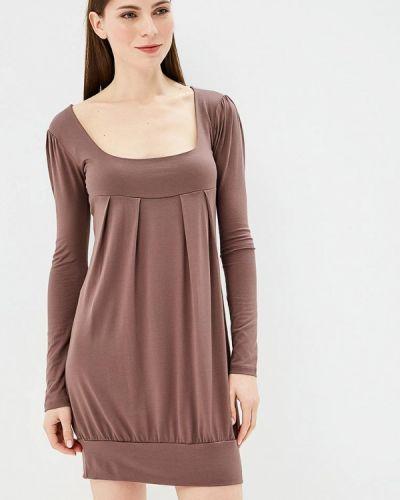 Платье - коричневое Beyou