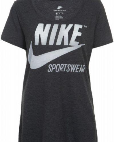Спортивная футболка с логотипом прямая Nike