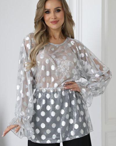 Нарядная блузка - белая Wisell