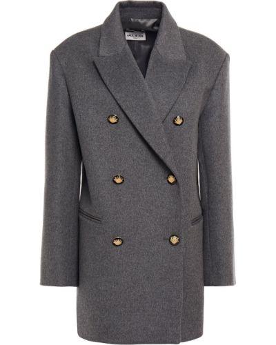 Серое французское пальто Paul & Joe