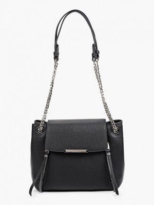 Черная сумка осенняя Eleganzza