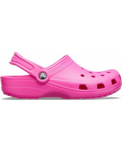 Облегченные розовые шлепанцы для бассейна Crocs