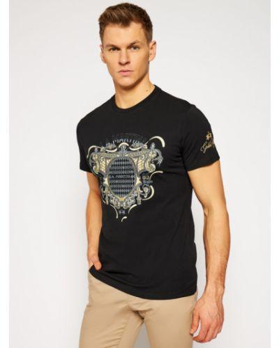 Czarna t-shirt La Martina