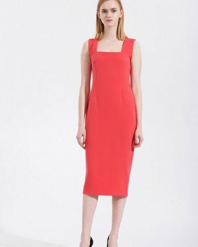Платье весеннее красный W8less