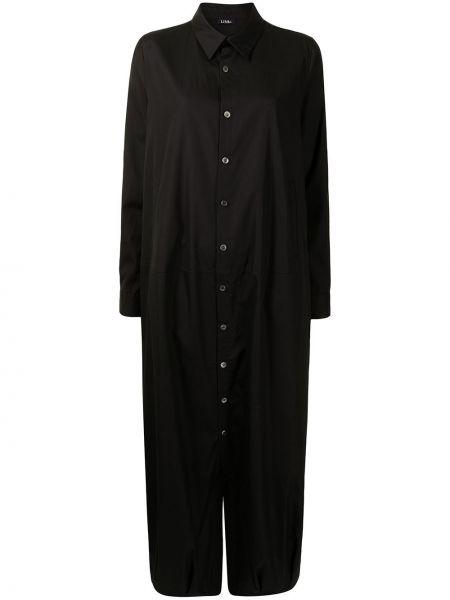 Czarny klasyczny kombinezon Yohji Yamamoto