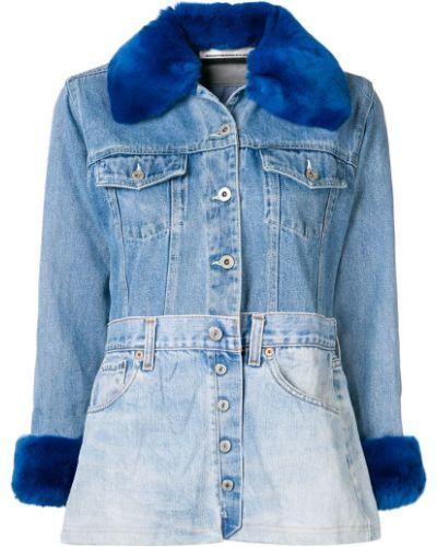 Синяя куртка Night Market