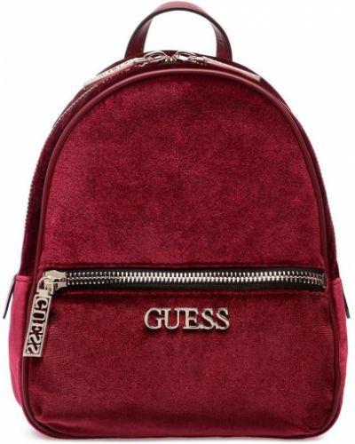 Красный рюкзак Guess