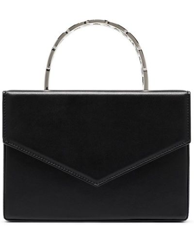 Кожаная сумка - черная Amina Muaddi