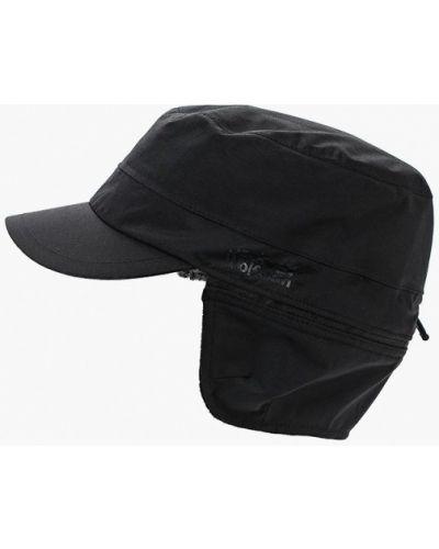 Черная кепка Jack Wolfskin