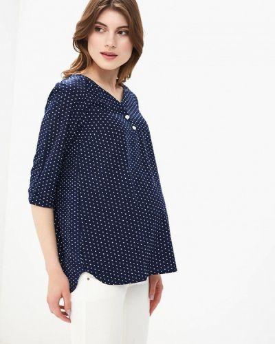 Блузка - синяя 9месяцев 9дней