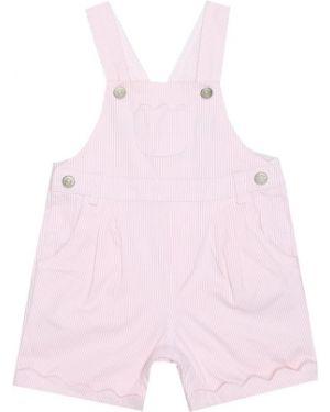 Ватное хлопковое розовое летнее платье стрейч Tartine Et Chocolat