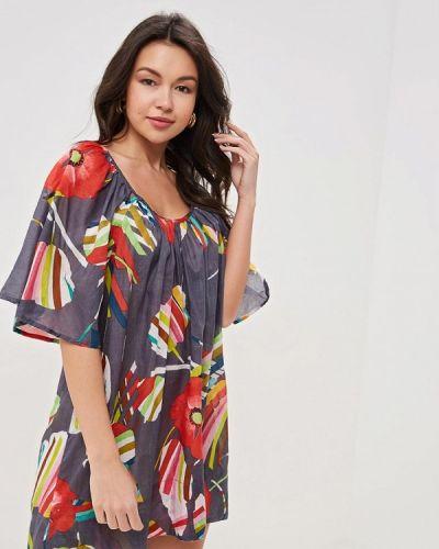 Пляжное платье - серое Venera