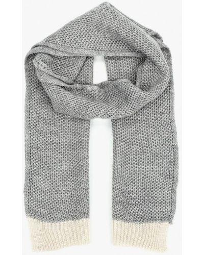 Серый шарф Mango Man