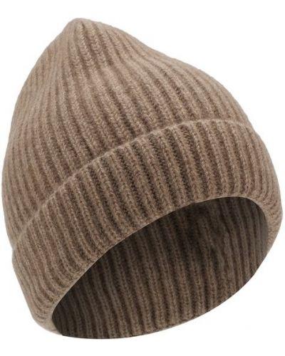 Коричневая шапка кашемировая Tsum Collection