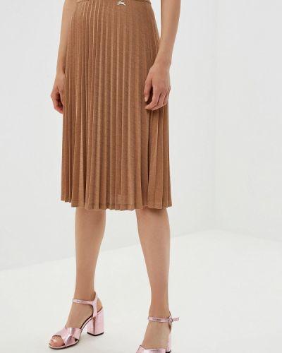 Плиссированная юбка бежевый Akhmadullina Dreams
