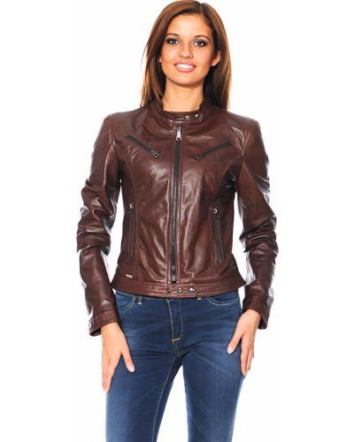 Куртка осенняя коричневая Mor`a