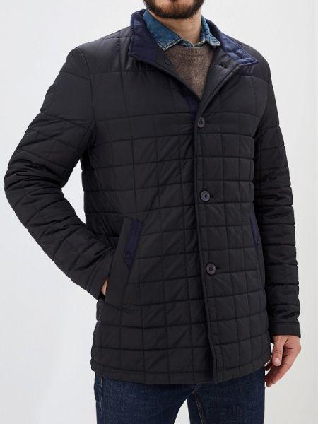 Теплая черная утепленная куртка Bazioni