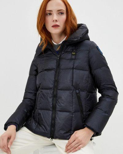 Зимняя куртка осенняя синий Blauer