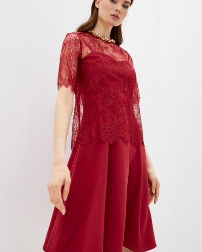 Красное вечернее платье Twinset Milano