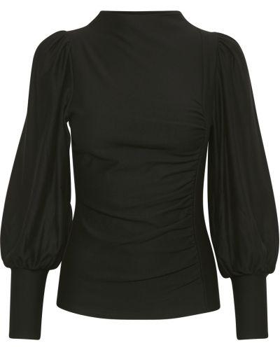 Czarna bluzka Gestuz