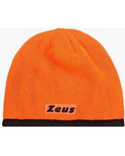 Разноцветная шапка - черная Zeus