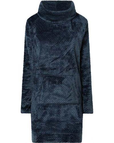 Sukienka rozkloszowana - niebieska Esprit