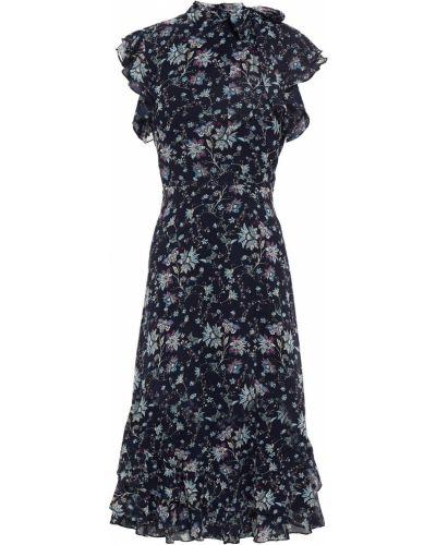 Платье с подкладкой из крепа на крючках Mikael Aghal