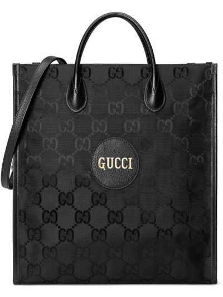 Кожаная сумка - черная Gucci
