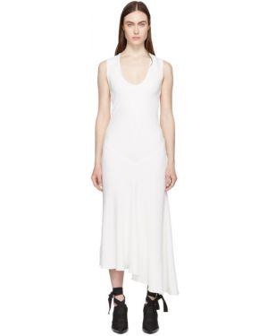Платье макси с отложным воротником шелковое Haider Ackermann