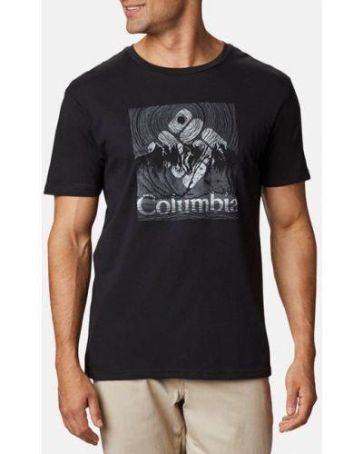 Черная футболка Columbia
