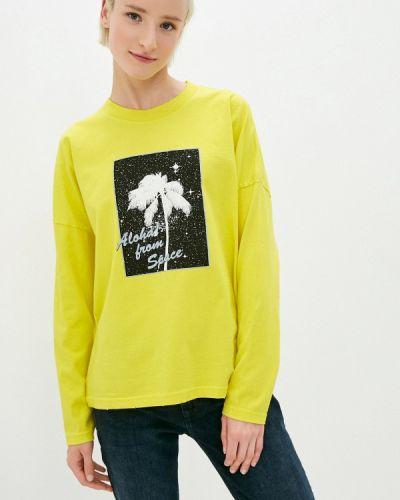 Лонгслив - желтая Quiksilver