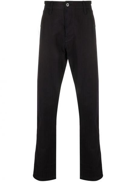 Синие брючные прямые брюки с карманами новогодние G-star Raw