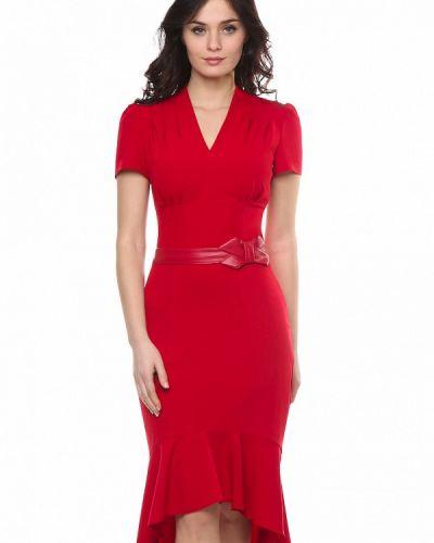 Красное вечернее платье Grey Cat