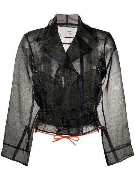 Куртка черная байкерская Quetsche