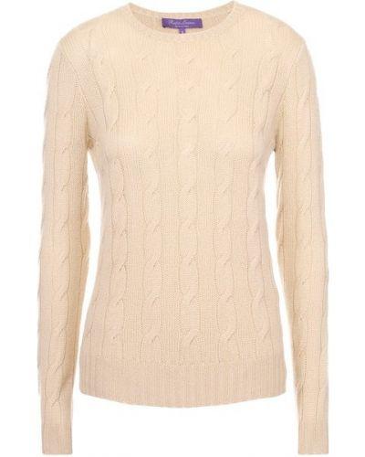 Кашемировый пуловер - бежевый Ralph Lauren