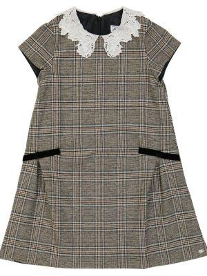 Кружевное платье - серое Tartine Et Chocolat