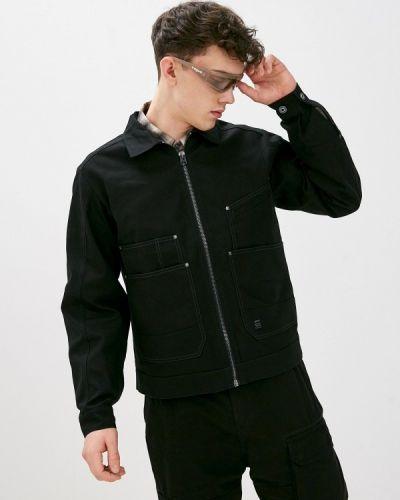 Облегченная черная куртка G-star